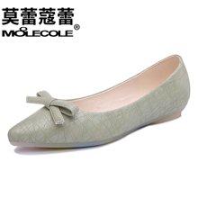 莫蕾蔻蕾2018新款时尚女鞋平底鞋百搭休闲女单鞋 70001