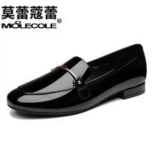 莫蕾蔻蕾2018新款单鞋豆豆鞋女鞋韩版百搭休闲懒人鞋  70021