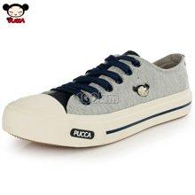 PUCCA/中国娃娃 甜美女学生帆布鞋 韩版潮休闲鞋 系带单鞋 PCH113