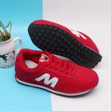 100KM猩猩猴 新款时尚阿甘鞋  纯色透气慢跑鞋 户外运动鞋潮鞋KKS103