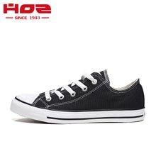 HOZ美国后街 经典款低帮运动休闲男女帆布鞋女鞋 情侣鞋小白鞋女JCAL32N82