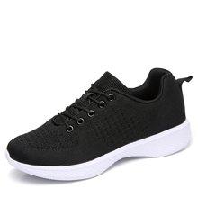 西瑞新款休闲鞋女韩版针织棉运动鞋慢跑鞋MN8801