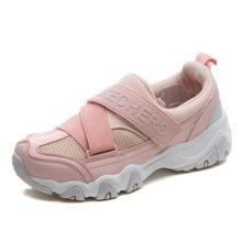 西瑞新款运动休闲鞋情侣款透气搭扣真皮运动鞋MNS559