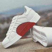 OKKO新款ins超火的鞋子女鞋爱心定制情侣经典贝壳头板鞋小白鞋女MN18821