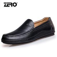零度尚品 休闲皮鞋 休闲男鞋 商务休闲皮鞋 休闲鞋 日常休闲鞋 时尚休闲皮鞋 F5278