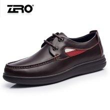 零度尚品 男鞋 时尚休闲鞋 厚底休闲鞋 男士休闲皮鞋 商务休闲皮鞋 日常休闲鞋 F5270