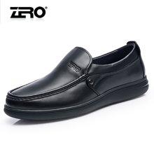 零度尚品 休闲男鞋 商务休闲皮鞋 休闲鞋 男士休闲皮鞋 时尚休闲鞋 F5271