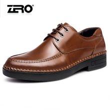 零度尚品正装皮鞋新品时尚打蜡牛皮潮流男鞋男士商务皮鞋F5295