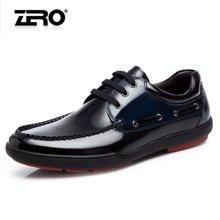 零度尚品 休闲鞋 休闲男鞋 男士休闲皮鞋 商务休闲皮鞋 时尚休闲鞋 驾车鞋 F5253