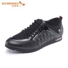 红蜻蜓男鞋时尚潮流男士运动休闲鞋皮鞋4508