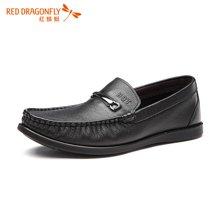 红蜻蜓男鞋 新品正品青年套脚舒适休闲男单鞋 6029