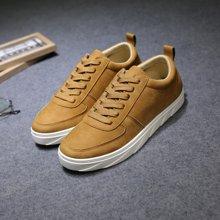 植木直运动鞋韩版潮流板鞋时尚纯色160710