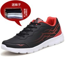 [买一赠一]古奇天伦2017新款男士平底舒适休闲鞋运动鞋跑鞋 6506