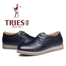 才子/TRIES男鞋休闲鞋新款板鞋流行透气 H41C9701