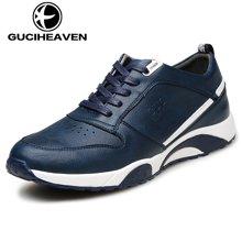 古奇天伦新款跑步鞋运动板鞋跑鞋休闲鞋潮鞋透气男鞋 A6501