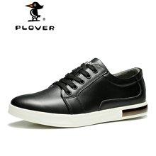 啄木鸟Plover男士休闲鞋韩版男时尚男鞋鞋子潮皮鞋韩版男鞋秋季A01127