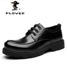 啄木鸟Plover男士休闲鞋韩版男时尚男鞋鞋子潮皮鞋韩版男鞋秋季A09130