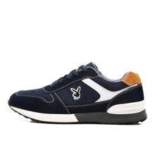 花花公子男鞋秋季运动休闲鞋透气板鞋男士元祖灰复古跑步鞋慢跑鞋CX39001