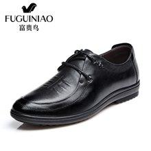 富贵鸟(FUGUINIAO)富贵鸟休闲皮鞋男士头层牛皮休闲鞋英伦皮鞋潮 S709078
