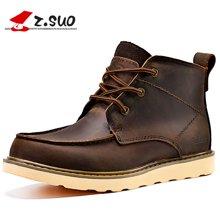 Z.Suo/走索男鞋英伦马丁靴男靴工装靴短靴加绒保暖雪地靴皮靴潮鞋子 ZS088