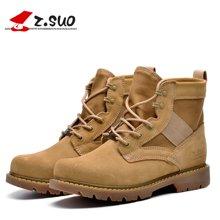 Z.Suo/走索女鞋秋冬季新款马丁靴女士休闲鞋潮流沙漠靴军靴短靴 ZS158N