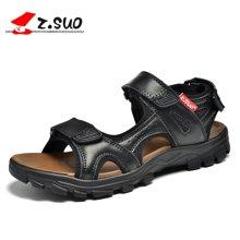 Z.Suo/走索男鞋春夏季凉鞋男士休闲鞋英伦透气沙滩鞋凉鞋子男潮 ZS16163