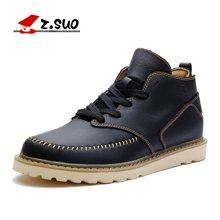 Z.Suo/走索男鞋韩版潮流皮鞋男士运动休闲鞋透气单鞋子 ZS058