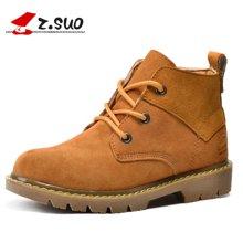 Z.Suo/走索女鞋马丁靴女英伦户外靴棉靴子女秋冬潮流短靴工装靴 ZS362