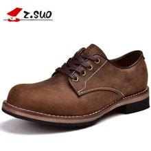 Z.Suo/走索男鞋马丁鞋男新款休闲鞋男单鞋工装鞋休闲皮鞋男 ZS18506