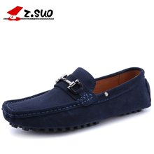 Z.Suo/走索男鞋豆豆鞋男春夏季男士休闲鞋英伦潮流驾车鞋透气鞋 ZS666J