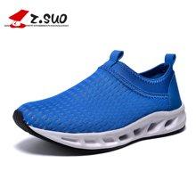 Z.Suo/走索女鞋网面跑步鞋休闲运动鞋大码网鞋潮情侣网鞋透气网鞋 ZSD01A