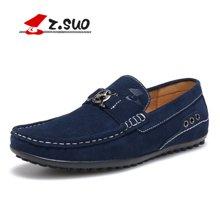 Z.Suo/走索男鞋男士休闲鞋豆豆鞋男英伦潮流驾车鞋套脚低帮鞋男 ZS670J