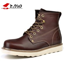 Z.Suo/走索马丁靴男秋冬季雪地短靴英伦户外靴子工装靴高帮男鞋 ZS16205