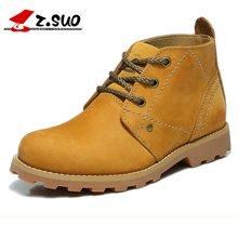 Z.Suo/走索女鞋靴子女秋冬季鞋子女士休闲鞋英伦短靴工装靴女潮 ZS9723