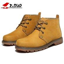 Z.Suo/走索男鞋潮流马丁靴男士休闲鞋秋冬英伦工装靴短靴军靴男 ZS0173