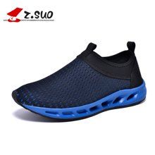 Z.Suo/走索情侣鞋网面跑步鞋休闲运动鞋大码男网鞋潮女网鞋透气网鞋 ZSD01B