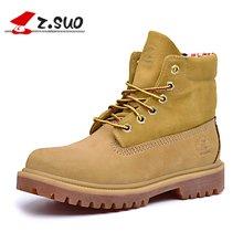 Z.Suo/走索鞋子秋冬季新款女靴子韩版马丁靴女士休闲鞋小码女靴 ZS1206