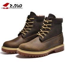 Z.Suo/走索新款马丁靴男秋冬季潮流男靴子英伦短靴军靴男沙漠靴 ZS1208