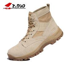 Z.Suo/走索男鞋休闲男靴子英伦马丁靴男军靴男士短靴沙漠靴男潮 ZS157