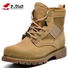 Z.Suo/走索男鞋马丁靴男冬季男靴子男士短靴军靴沙漠靴休闲鞋男 ZS158H