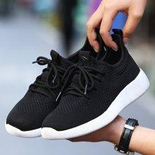 Simier斯米尔春夏款2017飞织椰子鞋情侣鞋运动休闲鞋X612