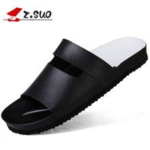 Z.Suo/走索男鞋拖鞋男夏季潮流一字拖鞋男士休闲鞋沙滩鞋男防滑 ZS18101
