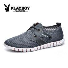 花花公子网鞋男夏季透气网面鞋运动休闲网布跑鞋镂空跑步板鞋韩版CX39050