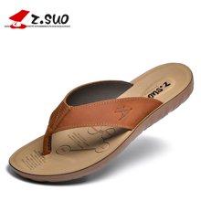 Z.Suo/走索男鞋拖鞋男夏韩版人字拖男士休闲鞋沙滩鞋防水凉拖男 ZS16618