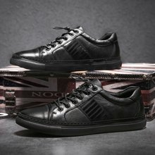 Simier2017秋季新款头层牛皮英伦简约休闲板鞋X9168