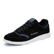 花花公子男鞋秋季新款男士休闲鞋韩版运动鞋潮鞋子低帮跑步鞋CX39145