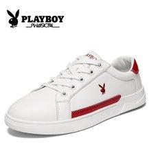 花花公子女鞋2018新款韩版潮流女鞋学生百搭小白鞋休闲板鞋春季女士CX59418