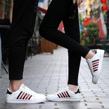 Simier2018春新款男女小白鞋情侣鞋板鞋休闲小白鞋XL599