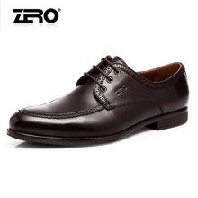 零度尚品正装皮鞋新品商场同款高档牛皮尖头英伦商务男鞋F5258