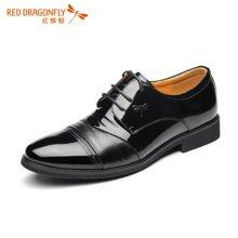 红蜻蜓男单鞋 正品男士英伦德比鞋商务正装皮鞋男鞋 4860